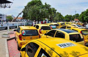 Taxistas en paro